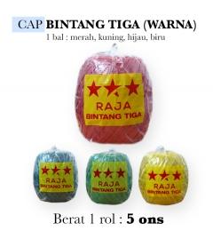 Cap Raja Bintang Tiga (Warna)